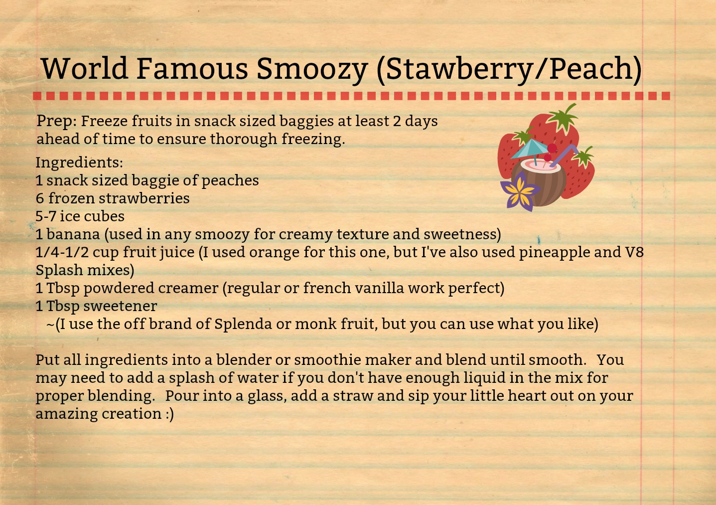 Smoozy-recipe