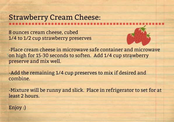Strawberry Cream Cheese-recipe
