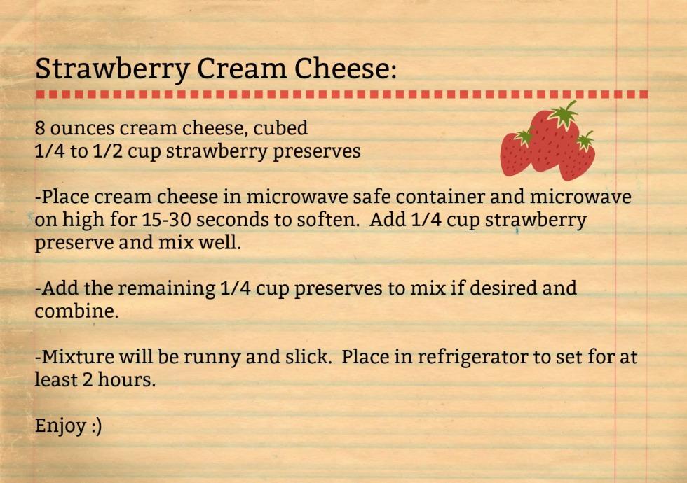 Strawberry Cream Cheese-recipe
