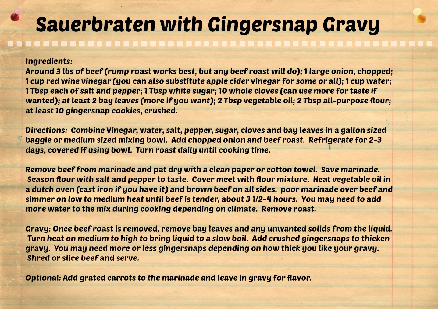 Sauerbraten-recipe