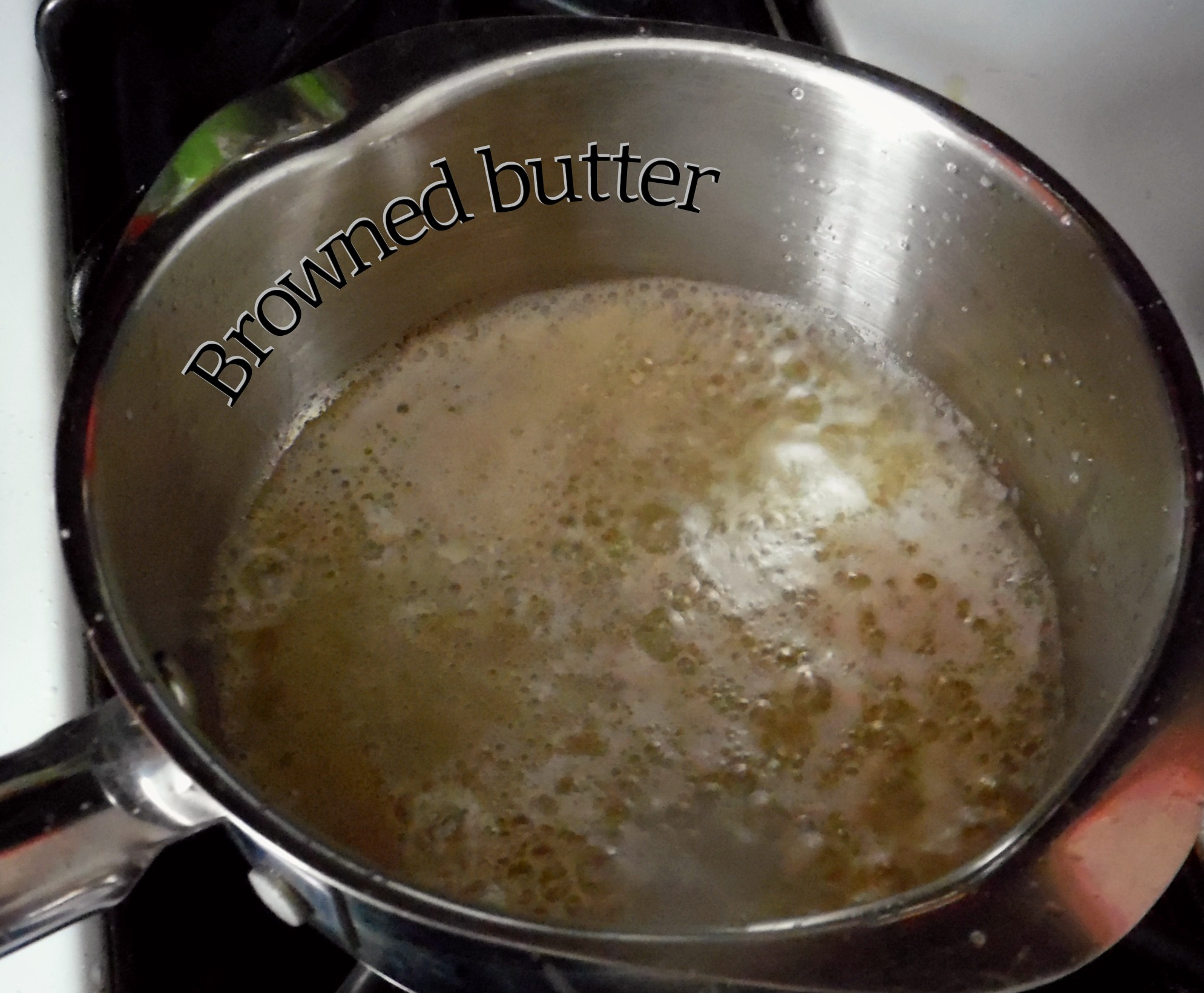 Browned butter