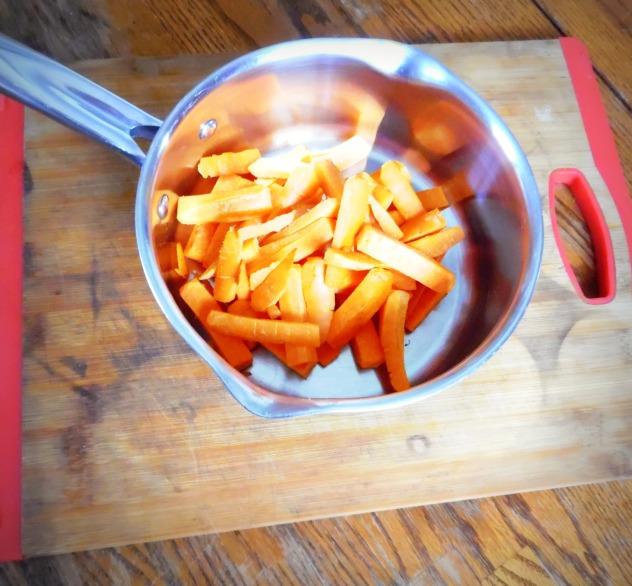 Carrots to Pot