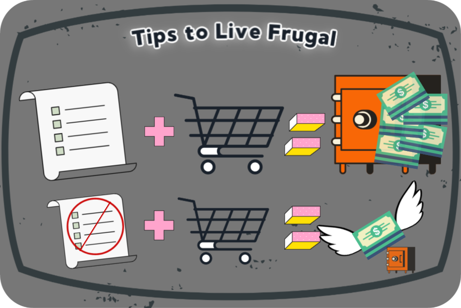 Tips on how to transition to living a more frugal life from TreadlingHome.